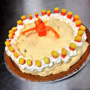 Pumpkin (ice cream) pie
